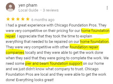 Chicago Foundation Repair Review