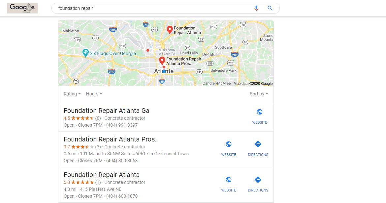 Fake Profiles on Google Maps