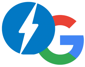 Google and Amp Logos