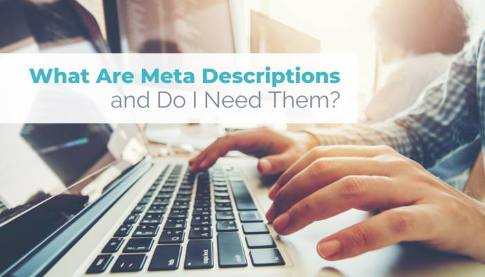What are meta descriptions and do I need them header